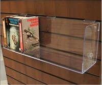 Clear Acrylic Retail Wall Display Systems