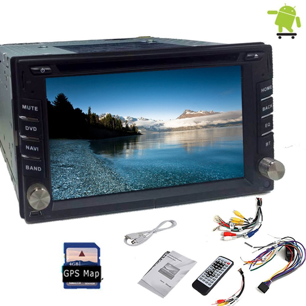 Christmas Sale!!! Bluetooth Pupug Android 4.2 2 Stereo CPU 6.2''Double Din 3G Wifi Car Stereo GPS Navigation Mp3 DVD Player Stereo PC BT Indash Headunit Car Radio FM/AM Audio SD Transmitter PC