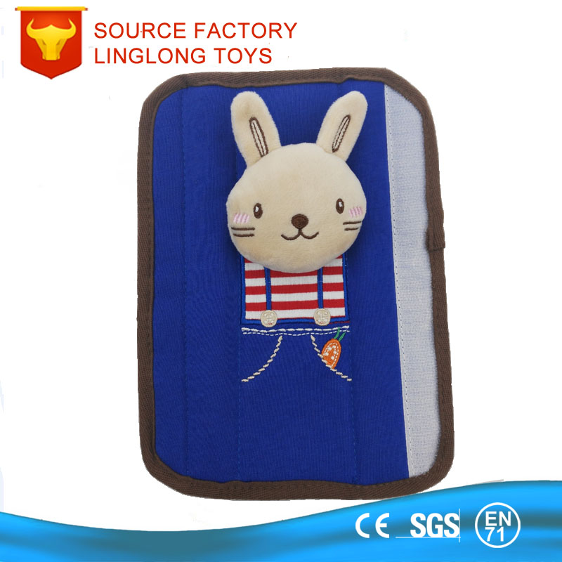 Mashimaro rabbit Baby Children Safety Seat belt shoulder sleeve car cover pillow protection seats