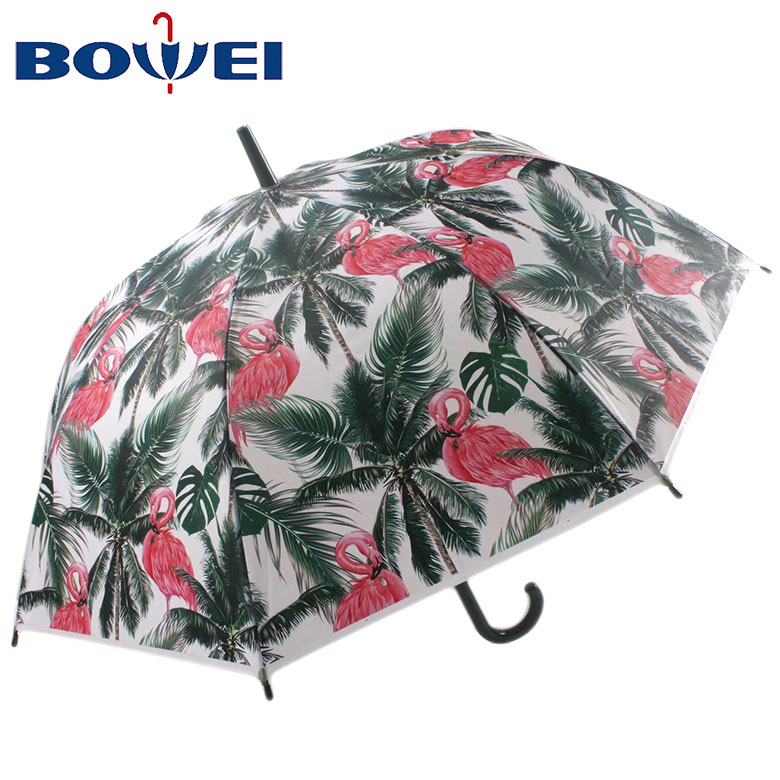 Factory Sale   Auto Open Straight Umbrella  for Lady