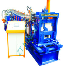 Factory cz steel purlin plate roll forming machine for cee and zee purlin with factory price