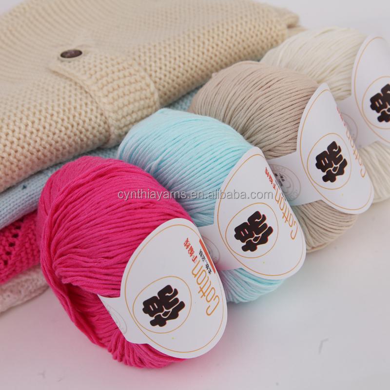 New Yarn Cynthia 100% Combed Gassed Mercerized Cotton Yarn