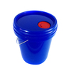 10 gallon chemical resistant plastic pail drum barrel