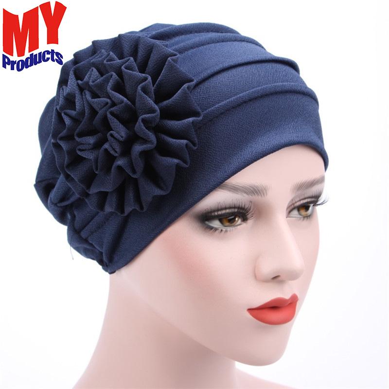 e0723e486098 Cap islamico musulmano hijab musulmano convocazioni per le donne con il  fiore