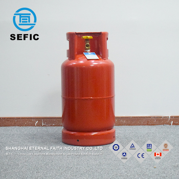 Different Types 12 5kg Lpg Gas Cylinder Manufacturer For Africa