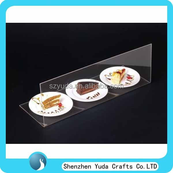 Acrylic Food Dust Cover Display Clear Sneeze Guard for Cake Food