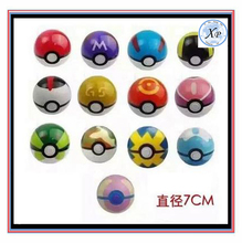 7cm inventory Classic Anime Pikachu kid various colors pokeball toy with doll