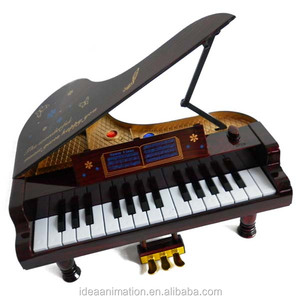 Emulation mini piano model for gifts sound music educational kids toy for sale