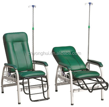 FDA CE ISO Reclining Hospital Used Infusion Chairs For Patients