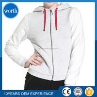 good price zip light grey womens hoodies and jackets