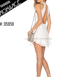 simple design short party morden dress patterns