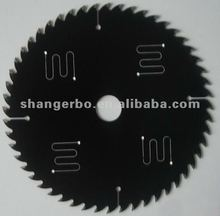 low noise cutting saw blade