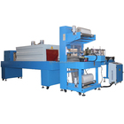 Automatic bottle shrink wrap machine for pet bottled water with packing