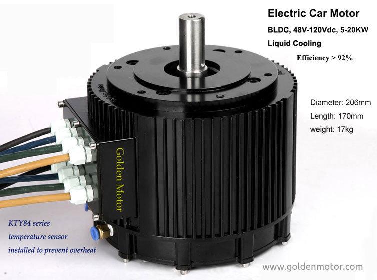 10kw 72V /48V High Power BLDC-Motor elektro-auto motor ,elektro-kfz ...