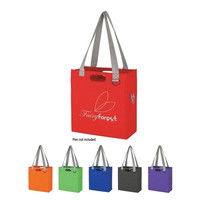 Factory Cheapest Price Promotional Custom Non Woven Bag expedia tote bag