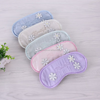 Hot Sale Popular Travel Soft Silk Filled Sleeping Aids Eye Mask Cover Shade Blindfold Rest Shield