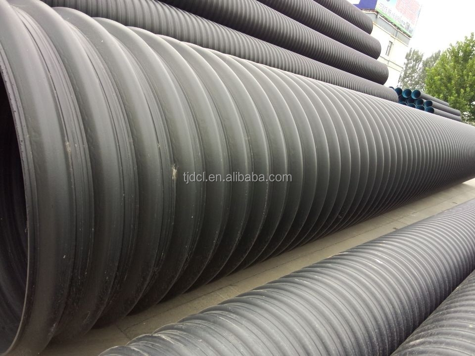 Hdpe Steel Band Reinforced Composite Spiral Corrugated Pipe/10 ...