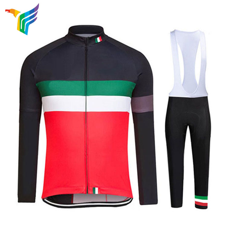 Wholesale Coolmax China Mens Custom Cycling Jersey Clothing Pro Team Set Manufacturer With Private Label
