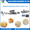 Automatic Fried Crispy Chips/Corn Bugle/Sala Chips Snacks Food Extruder Machine
