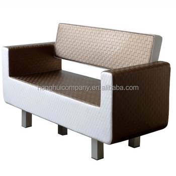 Luxury Booth Seating Hair Salon Chairs Barber Shop Waiting Chair