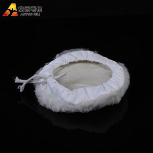 High quality mini soft wool pad diamond grinding wheel