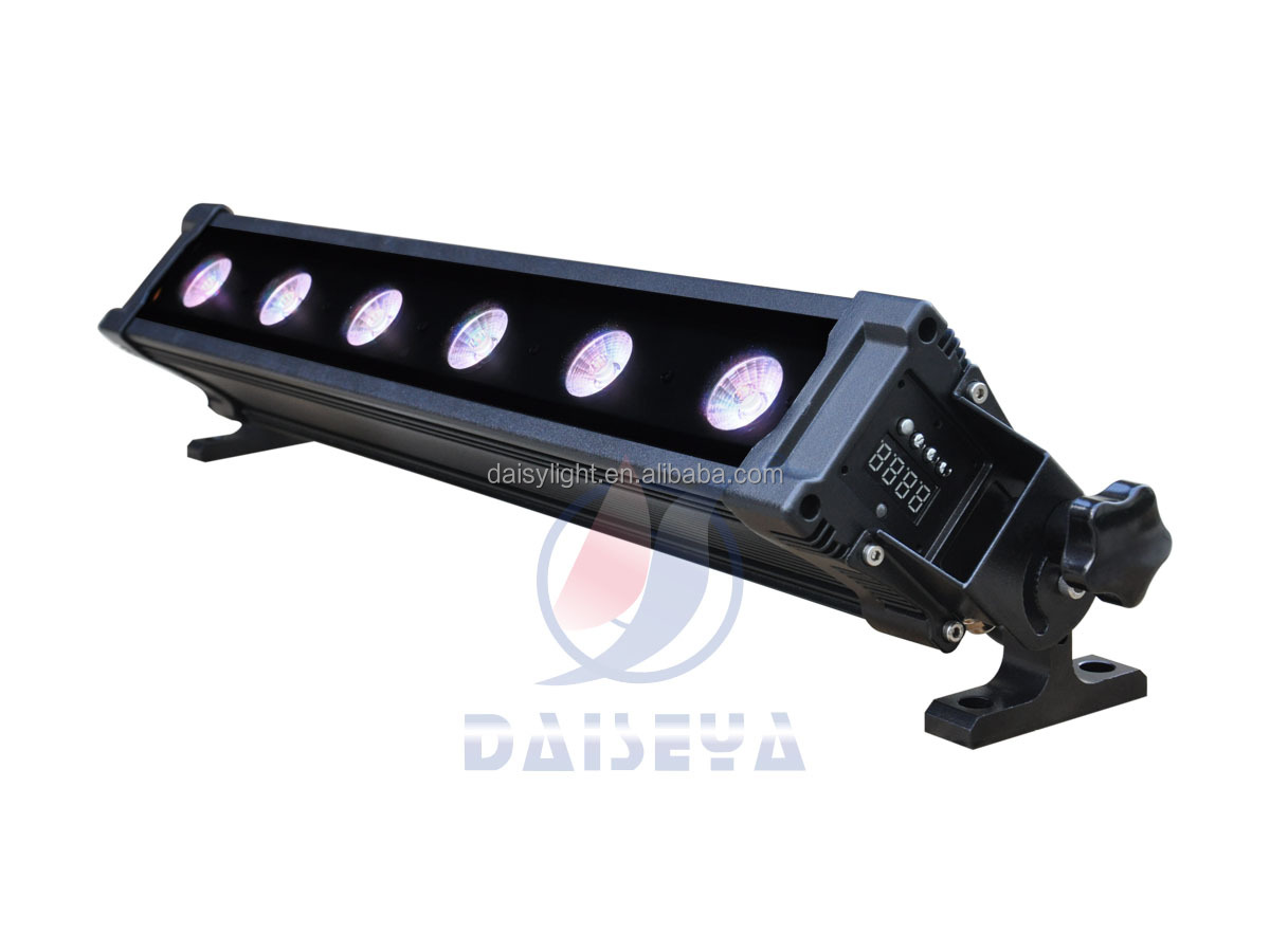 Battery Powered Led Light Bar Wall Washer Bar With