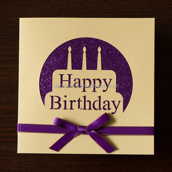 Alibaba China Personalized 1 Year Old Happy Birthday Invitation Gift