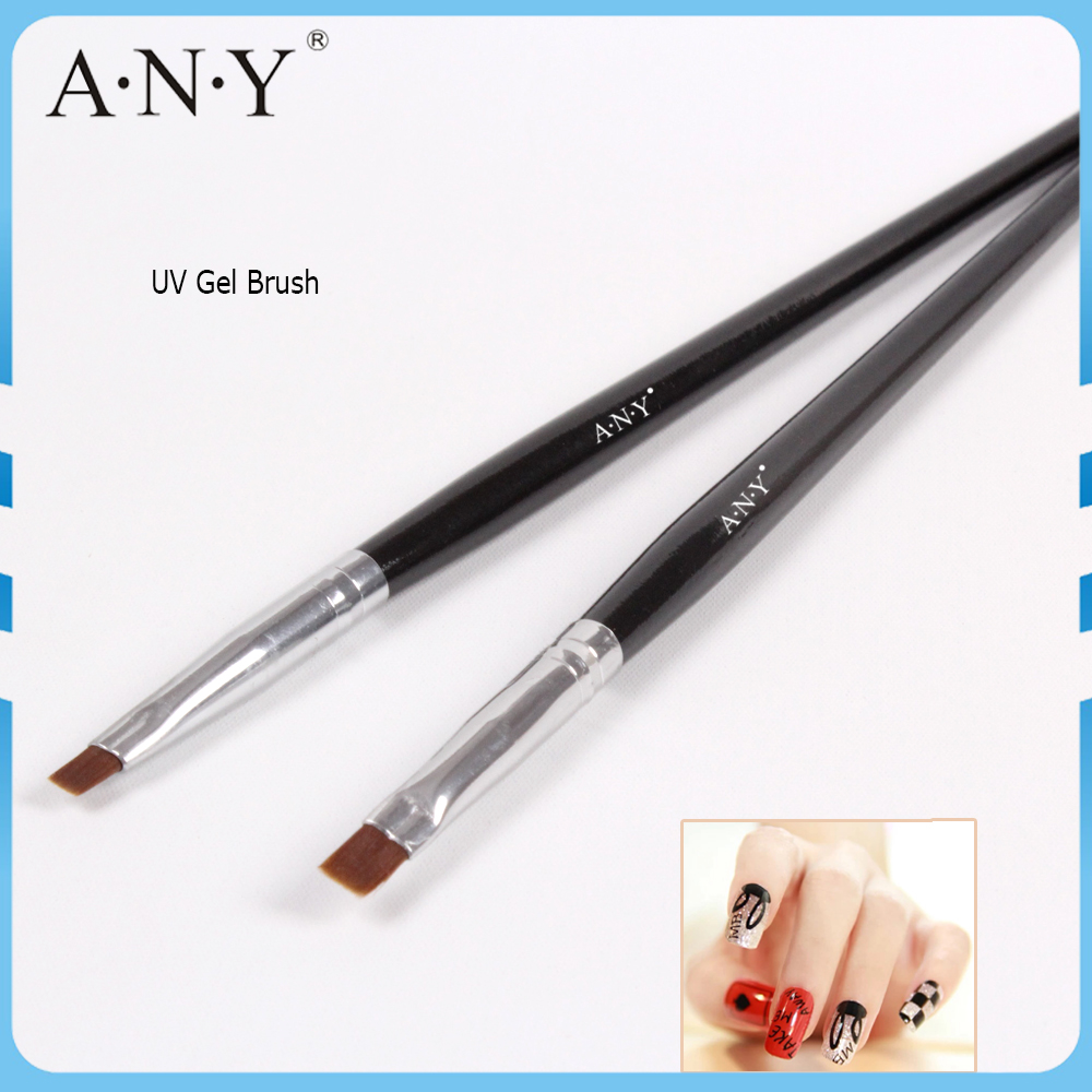 ANY Professional Wood Handle Nail Polish Pens For Nail Art Care