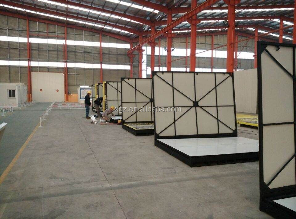 16 feet CE certified folding container house for storage exported Australia