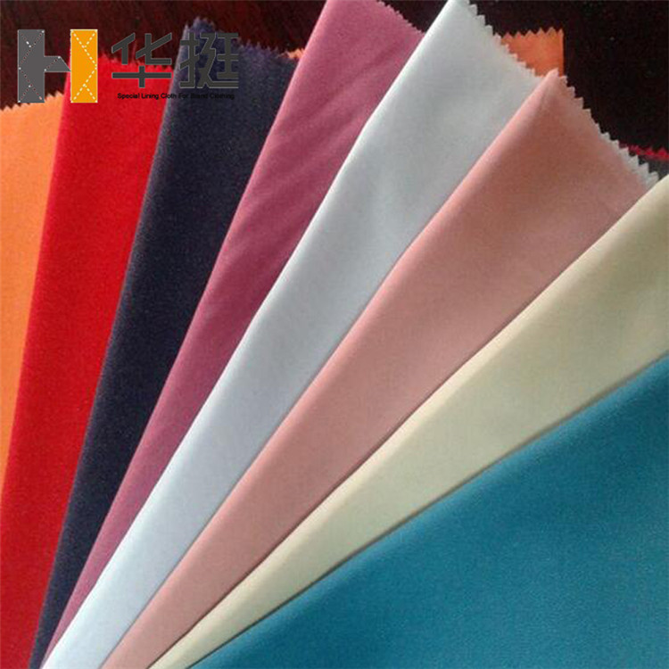 Wholesale PA fine gum 30D lightweight colored fusible interfacing for Georgette Chiffon Dress colour matching