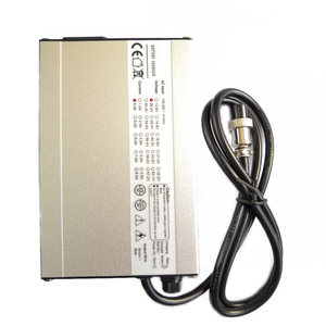 29.2V 4A Charger 8S 24V LiFePO4 Battery Charger With Cooling Fan Aluminum shell Quick Charge