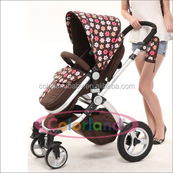 Multifunctional High Baby Doll Stroller With Car Seat