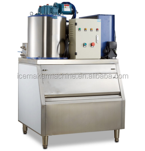 1000kgs Commerciële vlok ice maker Splinters ice maker cube ice maker