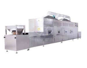 Herbs Microwave dryer drying tunnel machine Rose/Osmanthus petals microwave dryer machine