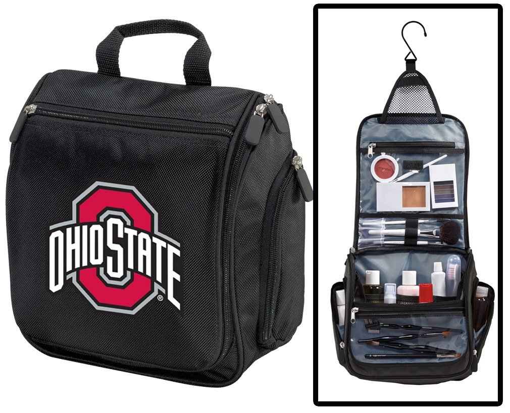 7b79a2e159a0 Get Quotations · Ohio State University Toiletry Bags Or Hanging OSU  Buckeyes Shaving Kits