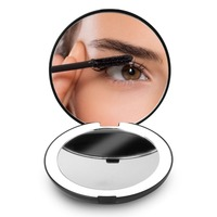 Lighted Magnifying Cordless Light Up Makeup Mirror