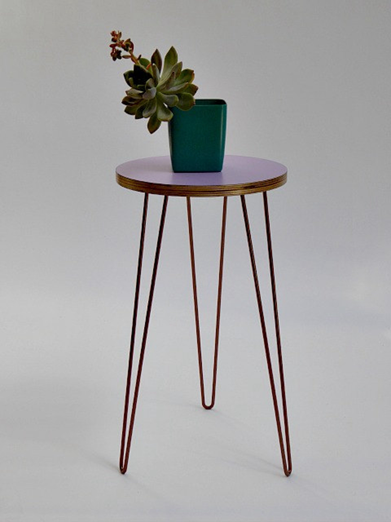 Copper metal wire plant stand mid century inspired buy wire plant stand metal plant stand - Steel pot plant stands ...