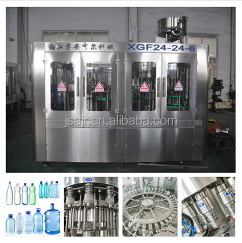 Small Bottle Automatic Liquid Filling Machine