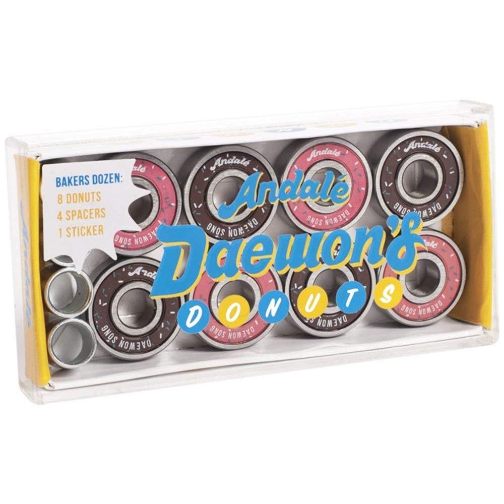 Andale Daewon Song Donut Box Skateboard Bearings (8 PC)