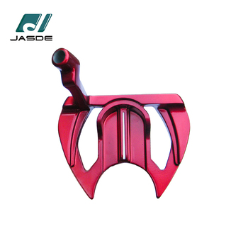 Manufacture Red Weight Left Hand Zinc Cnc Golf Club Putter