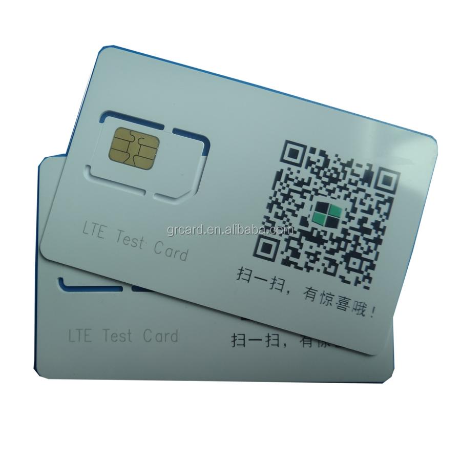 4g Micro Lte Usim Test Card Test Sim Card For Cmu200