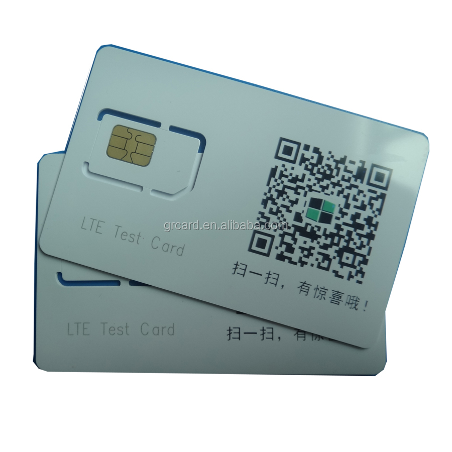 Factory Price 4g Micro Gsm Lte Test Sim Card For Cmu200 Ag8960 ...