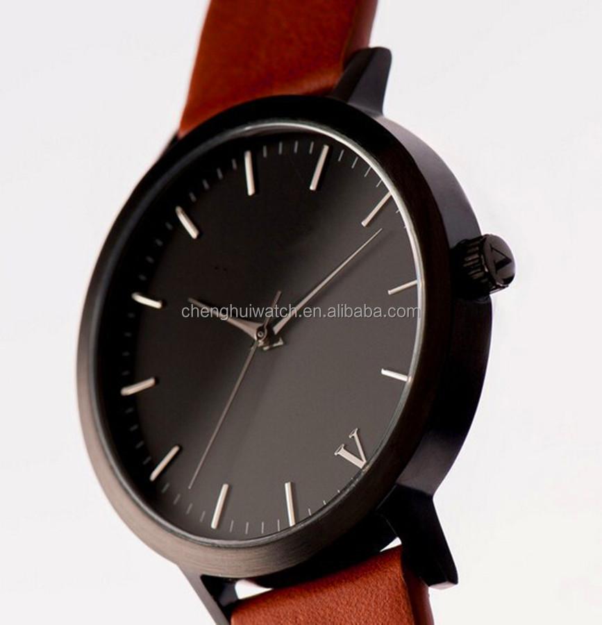 2017 trend chinese exporter fashion shakeproof genuine leather 2017 trend chinese exporter fashion shakeproof genuine leather watch men water resistant watch