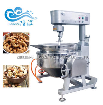 Hot sale industrial food cooking mixer machine for any sauce snack food