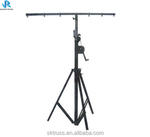 upright 6m lifting tower lighting stand crank stand Crank lift tower