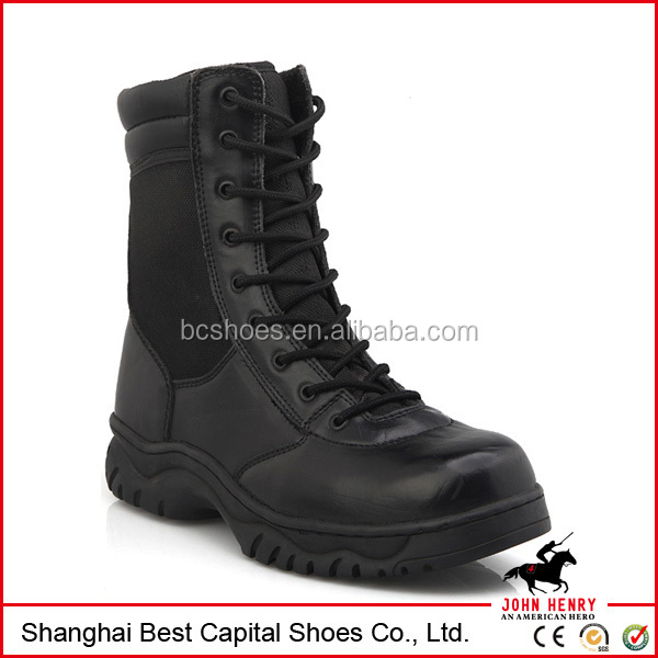 2017 New style Black Waterproof Military Tactical Duty Work Boots