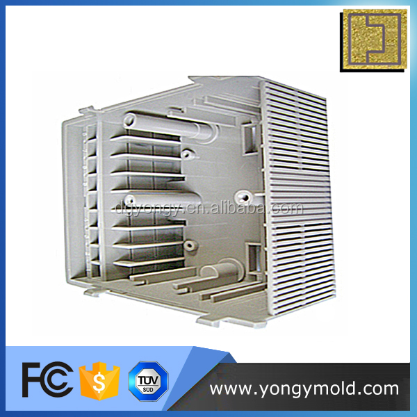 Heat dissipation ac adapter power supply plastic box