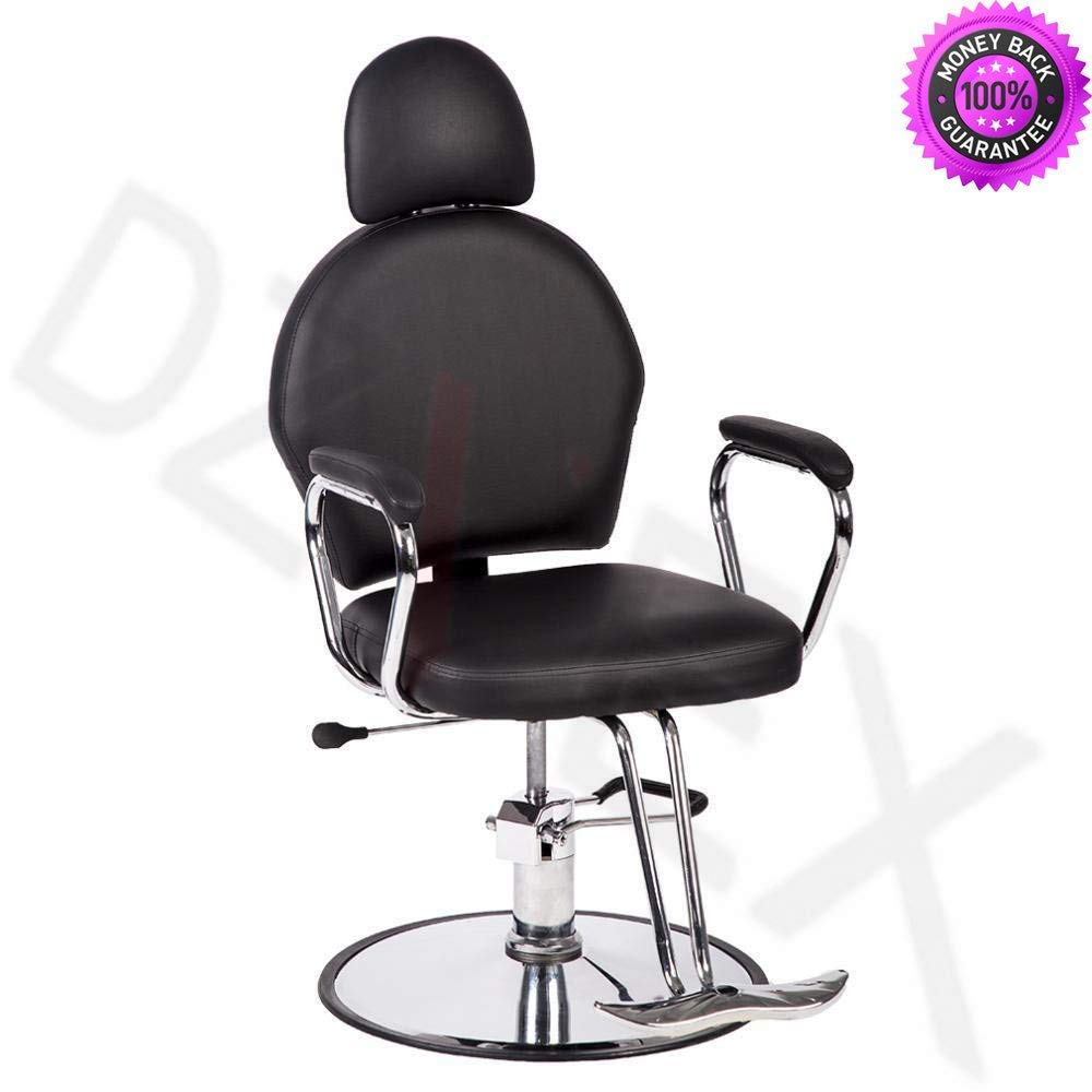 DzVeX_Salon Black Classic Hydraulic Barber Chair Beauty Salon Spa Chair 299W And This luxurious hydraulic barber chair is a salon classic. Both stylish and affordable, this barber chair is perfect