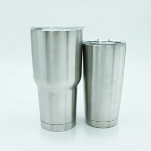 custom skinny 30 oz insulated double wall stainless steel tumbler sippy cups