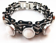 YM029 <span class=keywords><strong>2013</strong></span> nieuwste mode-sieraden factory supply biker chain rvs <span class=keywords><strong>armband</strong></span>
